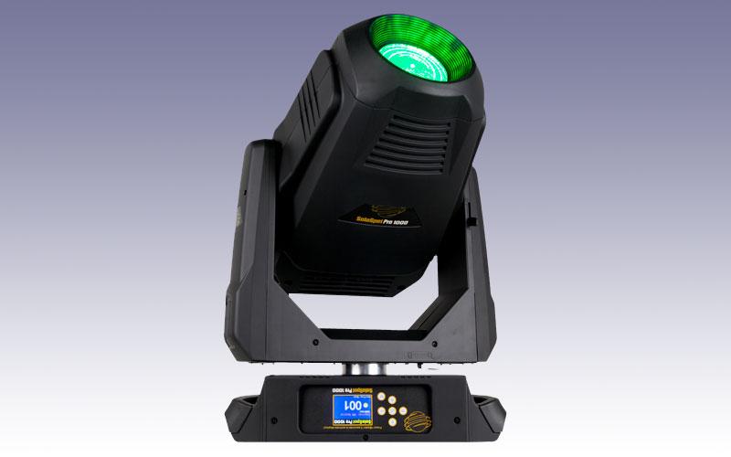 Nieuw in de verhuur: High End Systems Solaspot Pro 1000